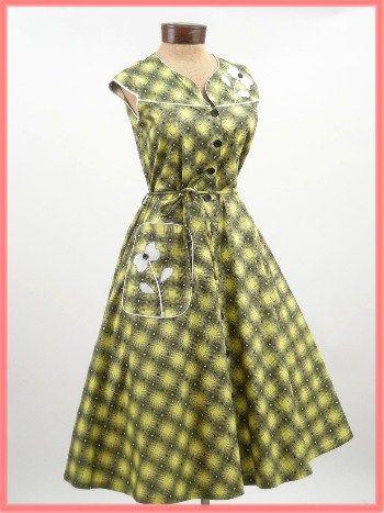 1000  images about vintage dresses on Pinterest - Day dresses- Tea ...
