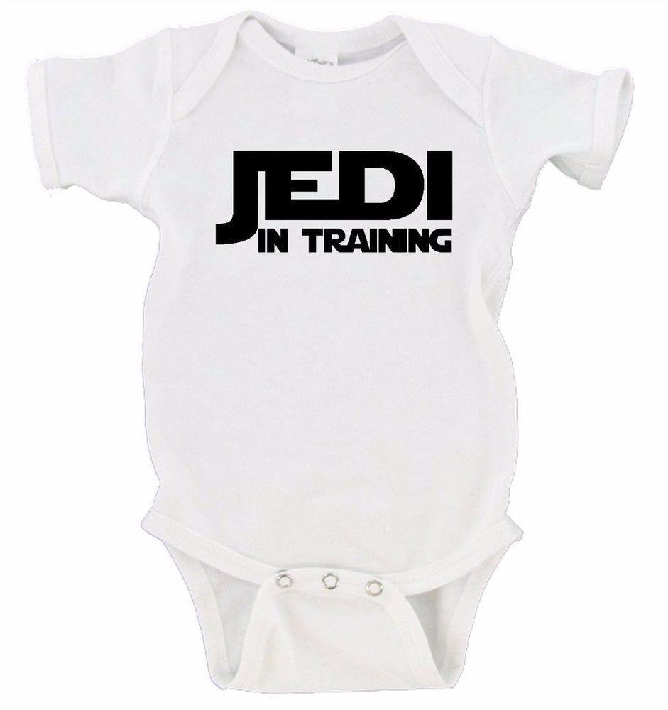 Details About Jedi In Training Star Wars Baby Onesie Nerdy