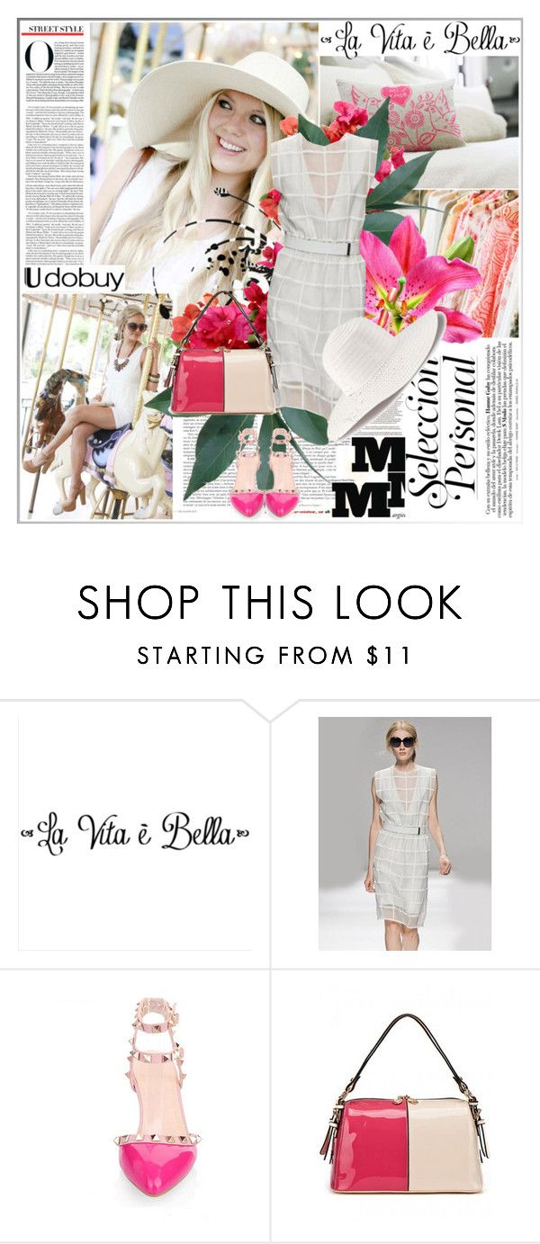"""White style"" by barbarela11 ❤ liked on Polyvore featuring Maison Margiela and H&M"
