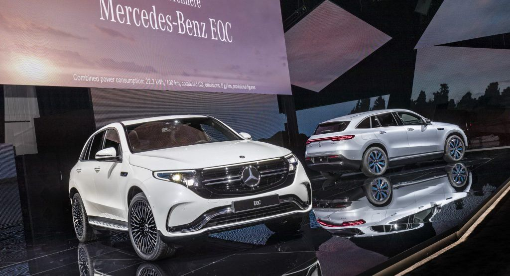 mercedes takes it slow with eqc production to iron out any teething rh pinterest com
