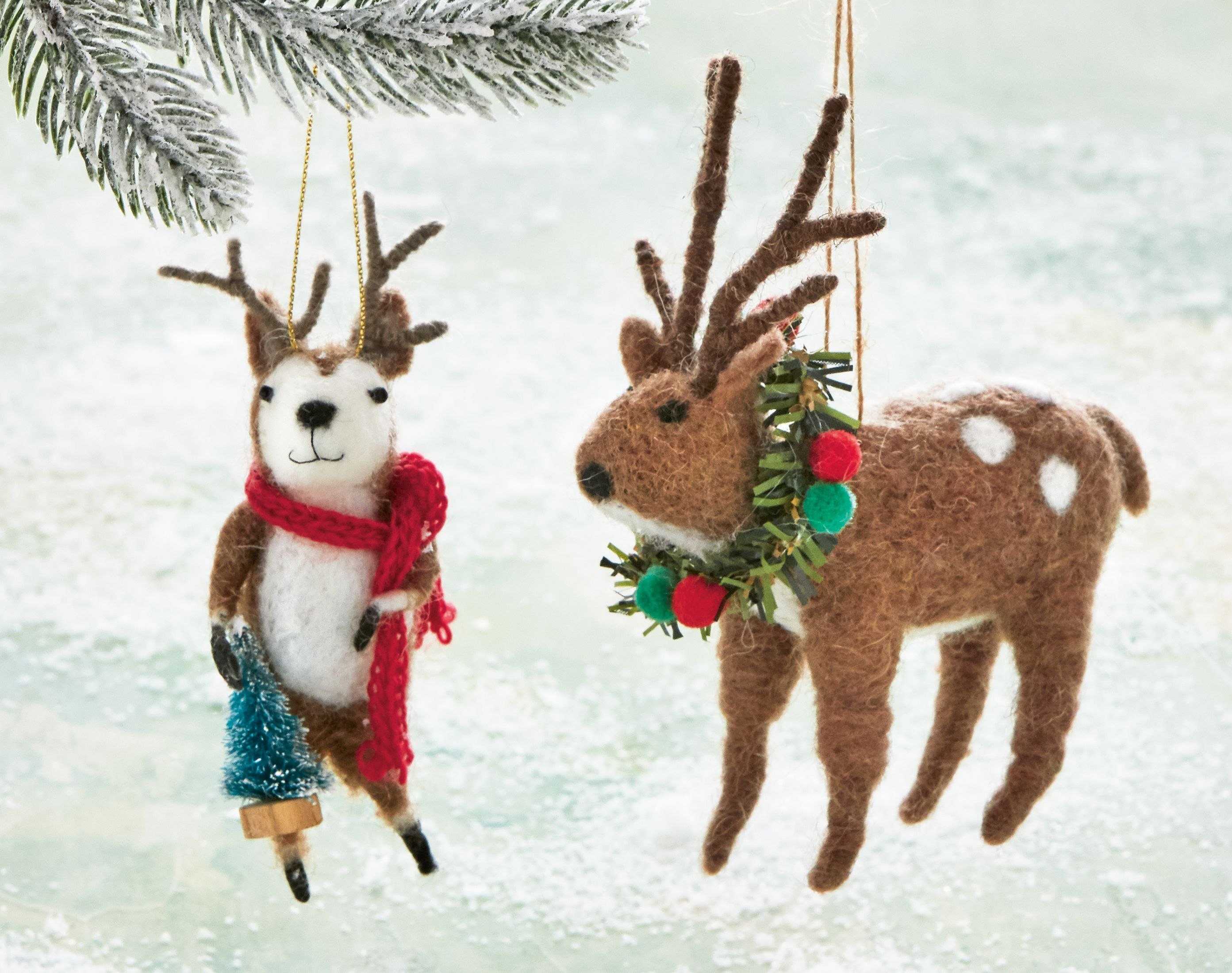 Reindeer Ornaments in 2020 Christmas ornaments, Reindeer