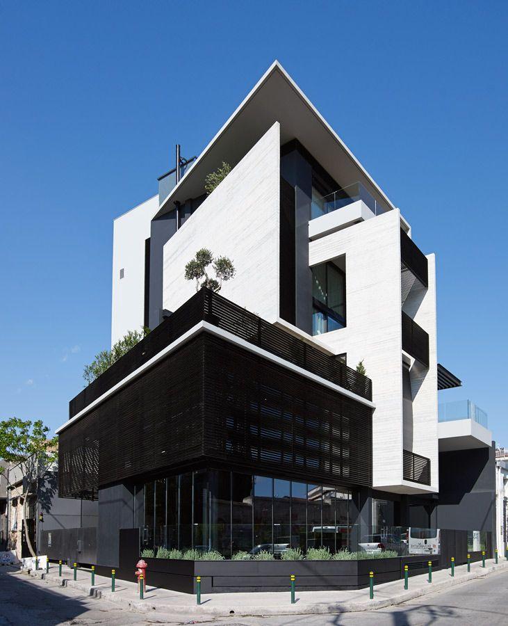 Modern Architecture Greece urban lofts, athens, greece / architect: charis gkikas & evaggelia
