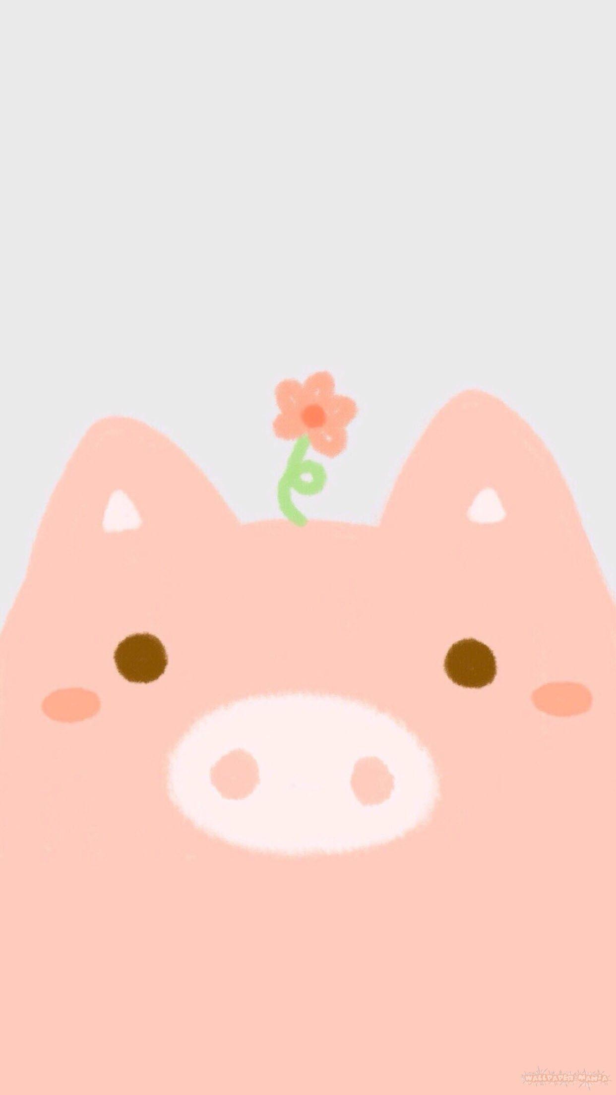 Vertical Cute Pig Wallpaper 1242 2208 Https Www Wallpapermania Website P 25605 Pig Wallpaper Cute Pigs Wallpaper