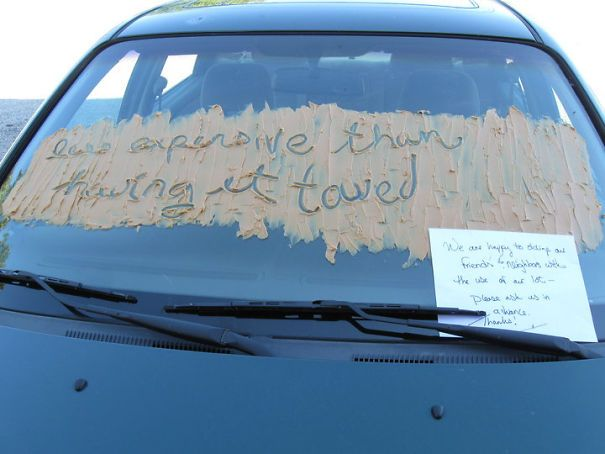 15 of the best notes left for asshole drivers who don t know how to rh pinterest com