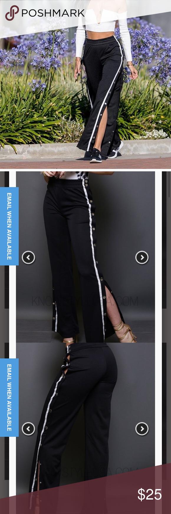 Sold Popper Sweatpants With Images Sweatpants Style Sweatpants Fashion Nova Pants
