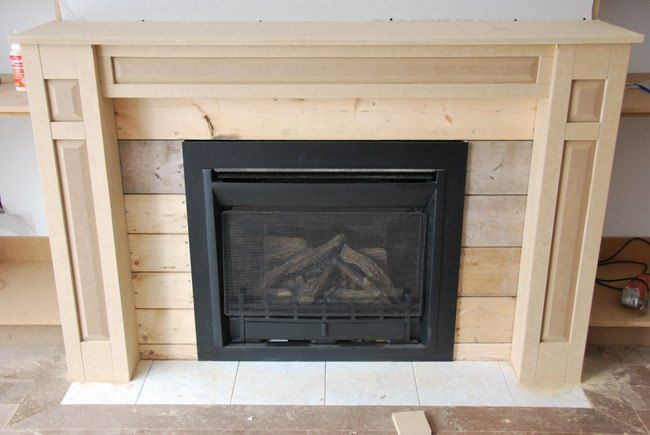 the living room a fireplace built in diy diy fireplace rh pinterest com au