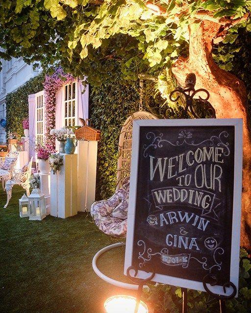 Pernikahan Outdoor Cantik ala Arwin dan Gina di Museum