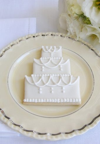 Wedding Cake Cookie From Cakeshautecouture