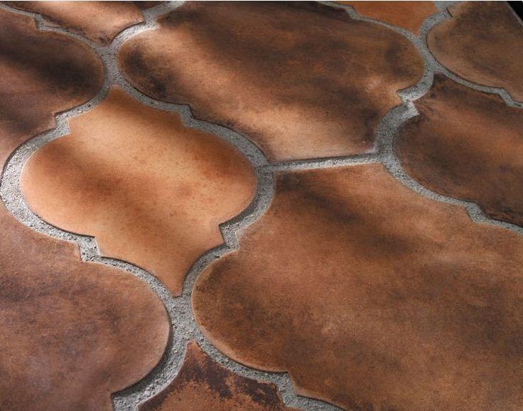 Image Result For Terracotta Look Porcelain Tile Arabesque