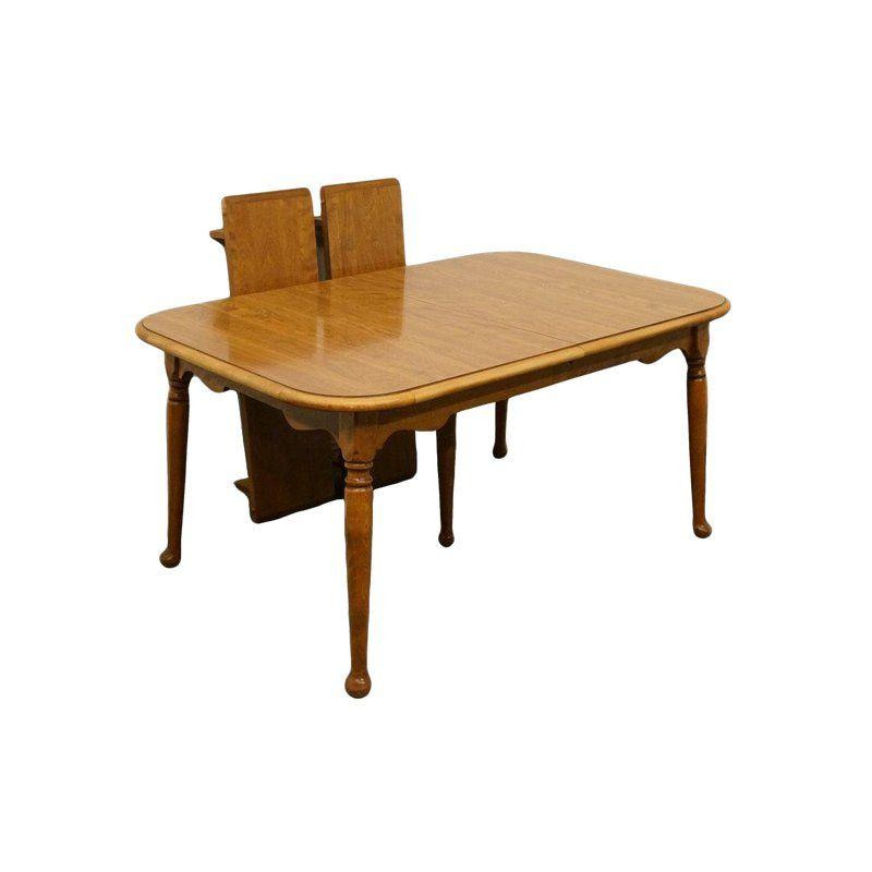 20th century traditional ethan allen heirloom nutmeg maple dining rh pinterest com