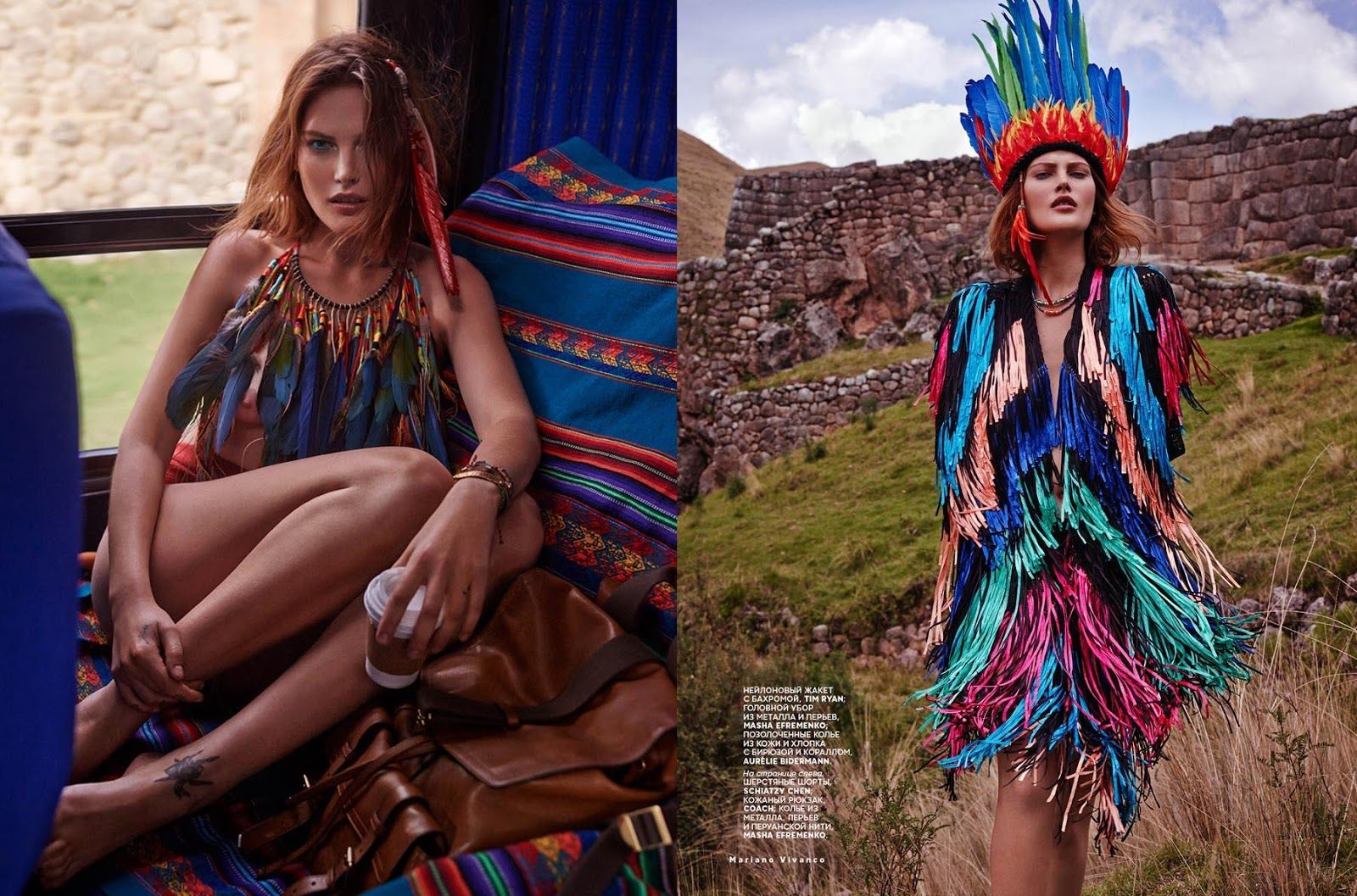 visual optimism; fashion editorials, shows, campaigns & more!: catherine mcneil by mariano vivanco for vogue russia march 2014