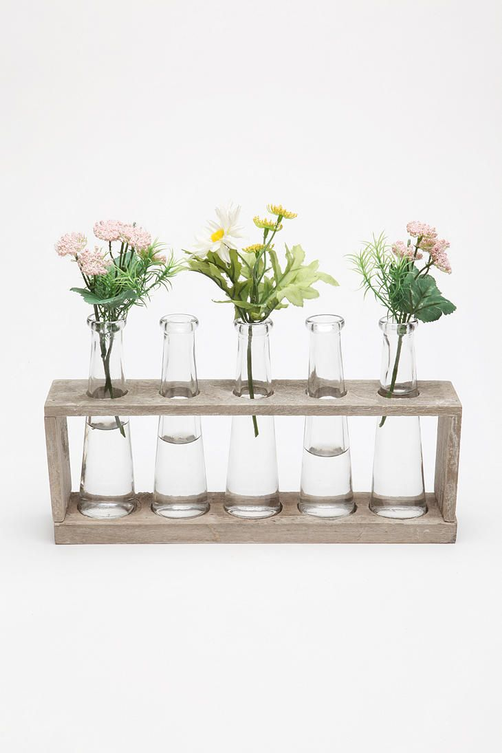 Laboratory flower vases urbanoutfitters pinned by laboratory flower vases we had test tube vases similar to these at our wedding engraved with our wedding date but they broke c reviewsmspy