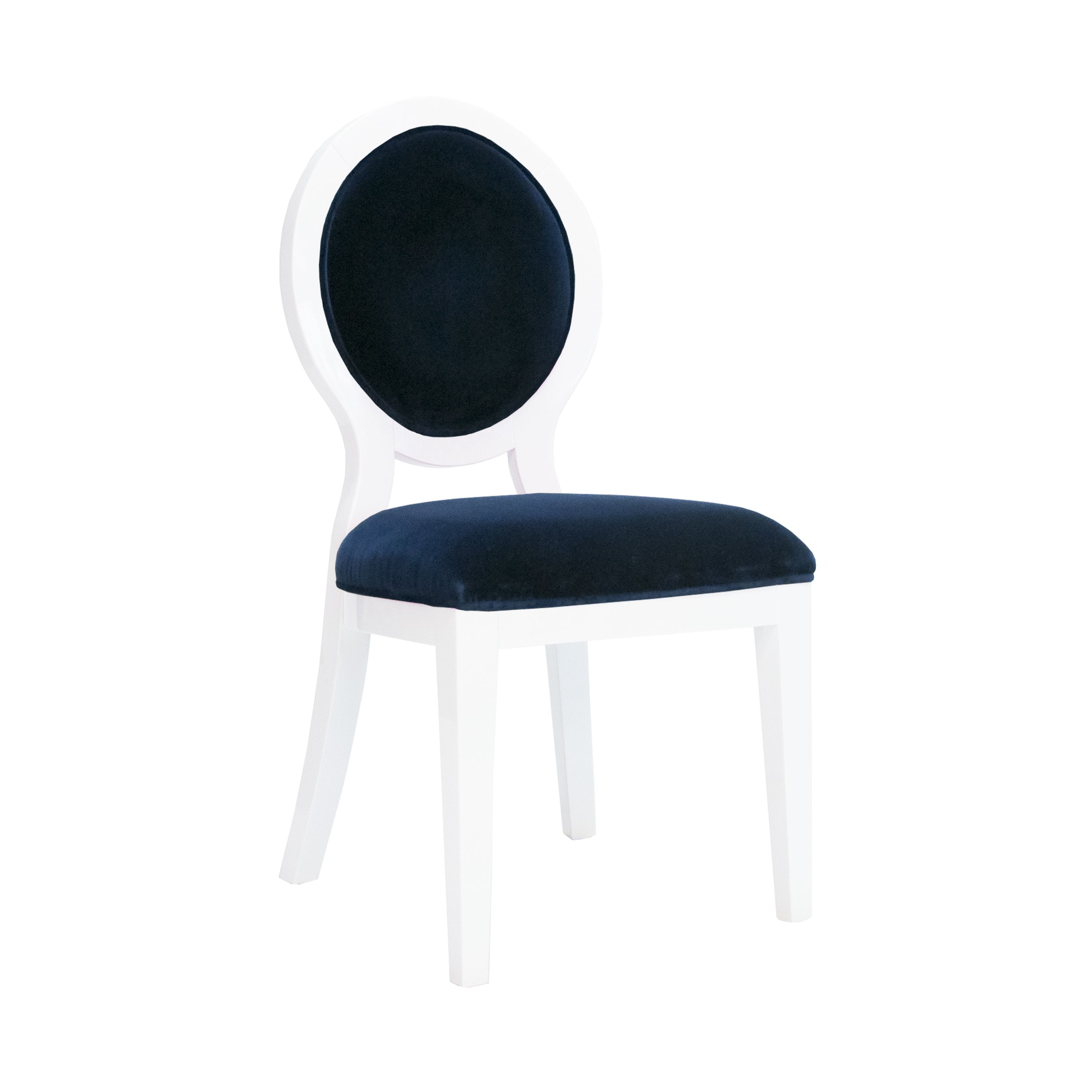 worlds away overton navy chair dining chairs dining chairs rh pinterest com