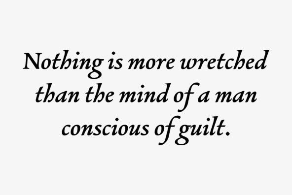 Alize Serif Oldstyle Sophisticated Conscience Quotes Guilty Conscience Quotes To Live By