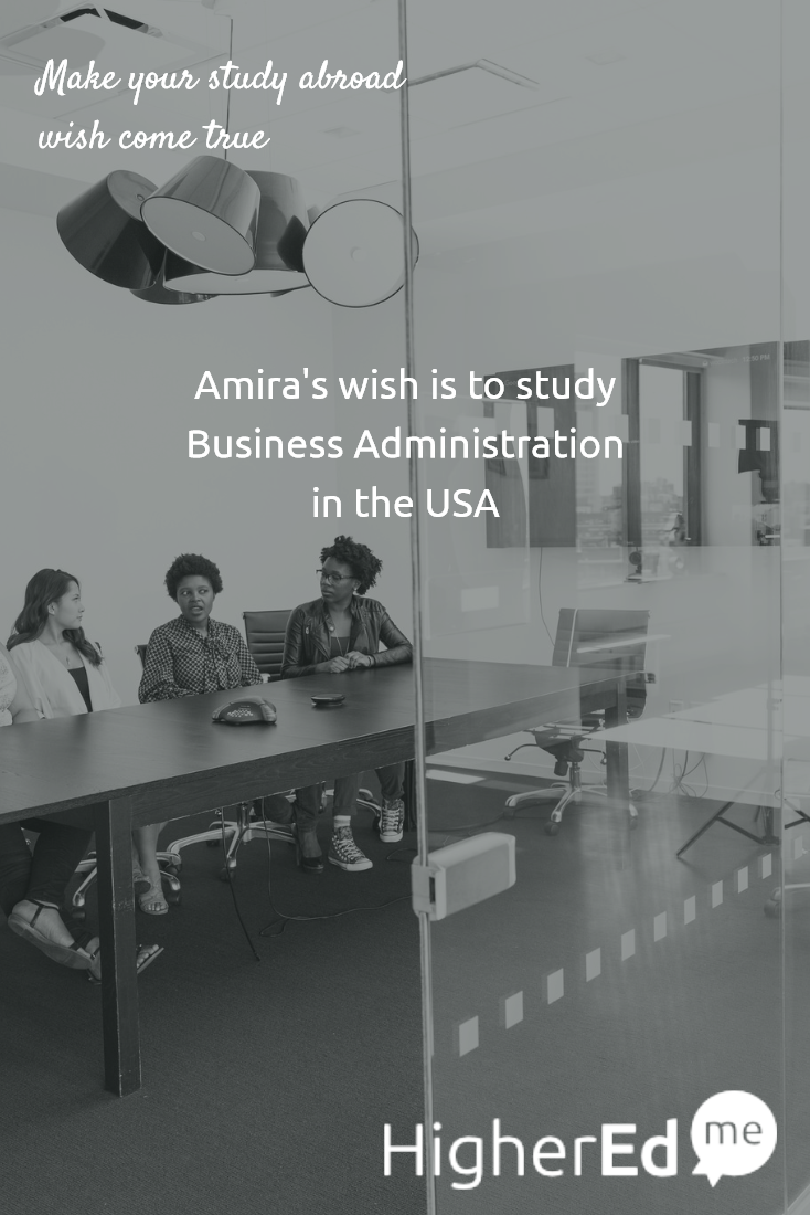 why you want to study business