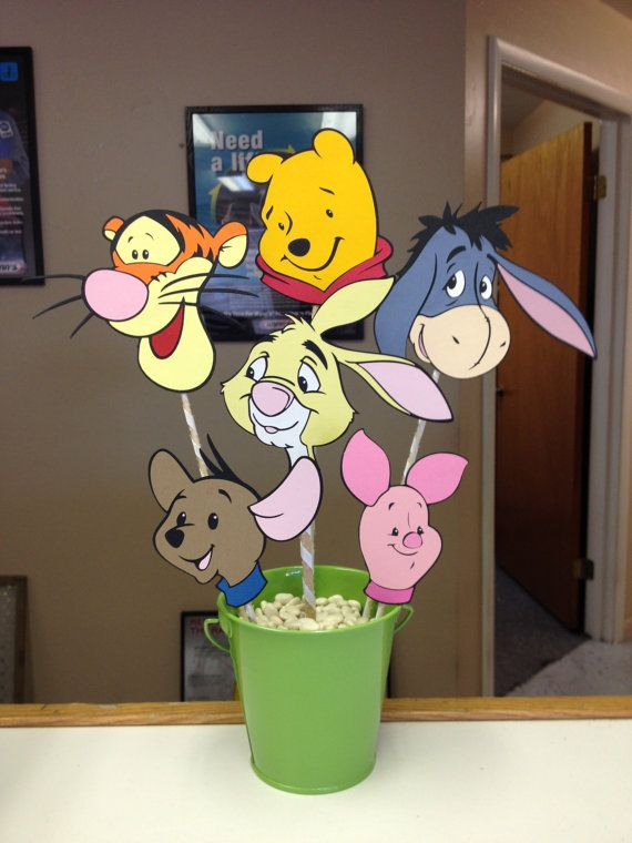 winnie the pooh birthday party centerpiece baby items in 2019 rh pinterest com