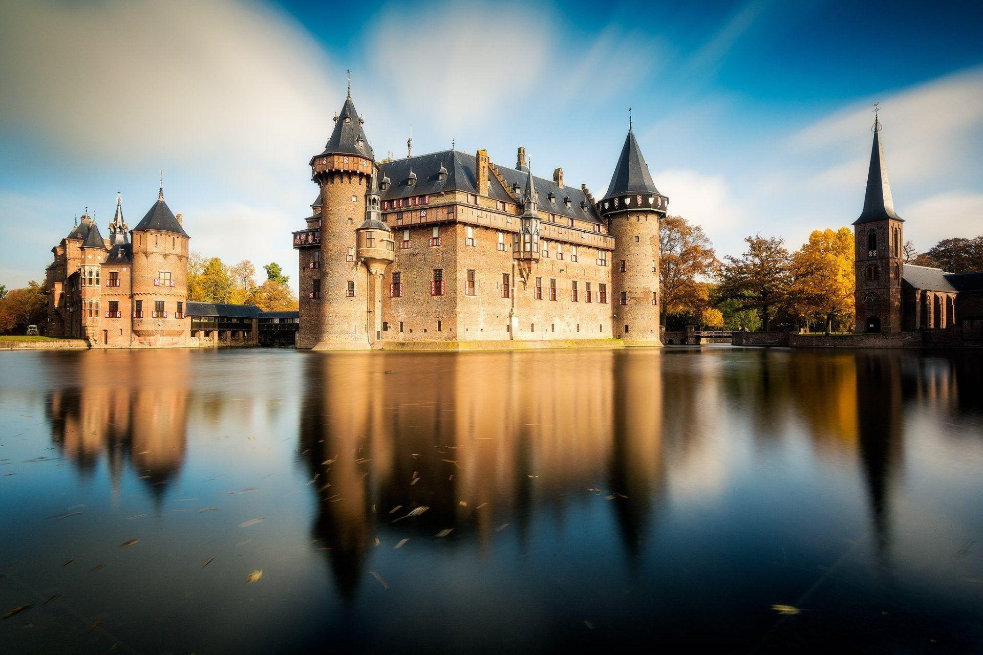 Man Made Castle De Haar Castle Building