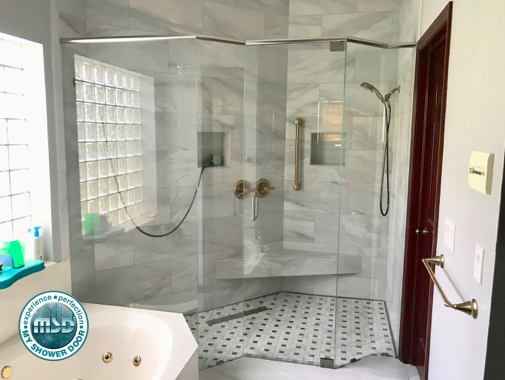 custom shower idea this is a beautiful 5 piece custom frameless rh za pinterest com