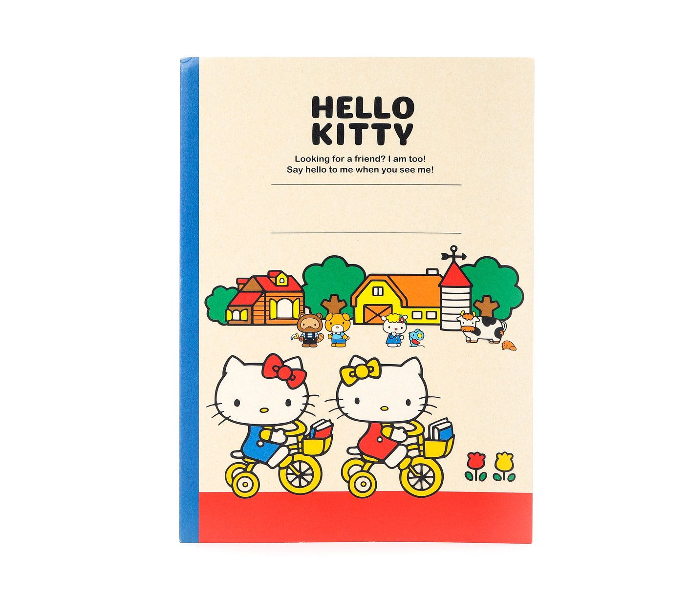 Hello Kitty Notebook Country