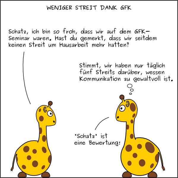 BGFK (Beinahe Gewaltfreie Kommunikation) Cartoons | GFK ...