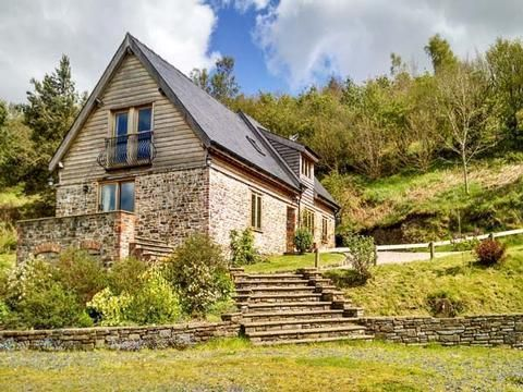 holiday barn in 65 acres powys wales barn conversions cottages rh pinterest co uk