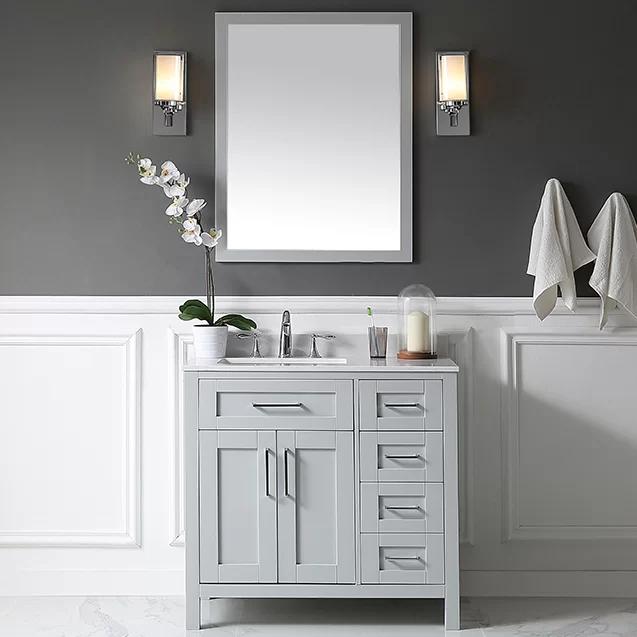 Fabulous Tahoe 36 Single Bathroom Vanity Set With Mirror Bath In Download Free Architecture Designs Scobabritishbridgeorg