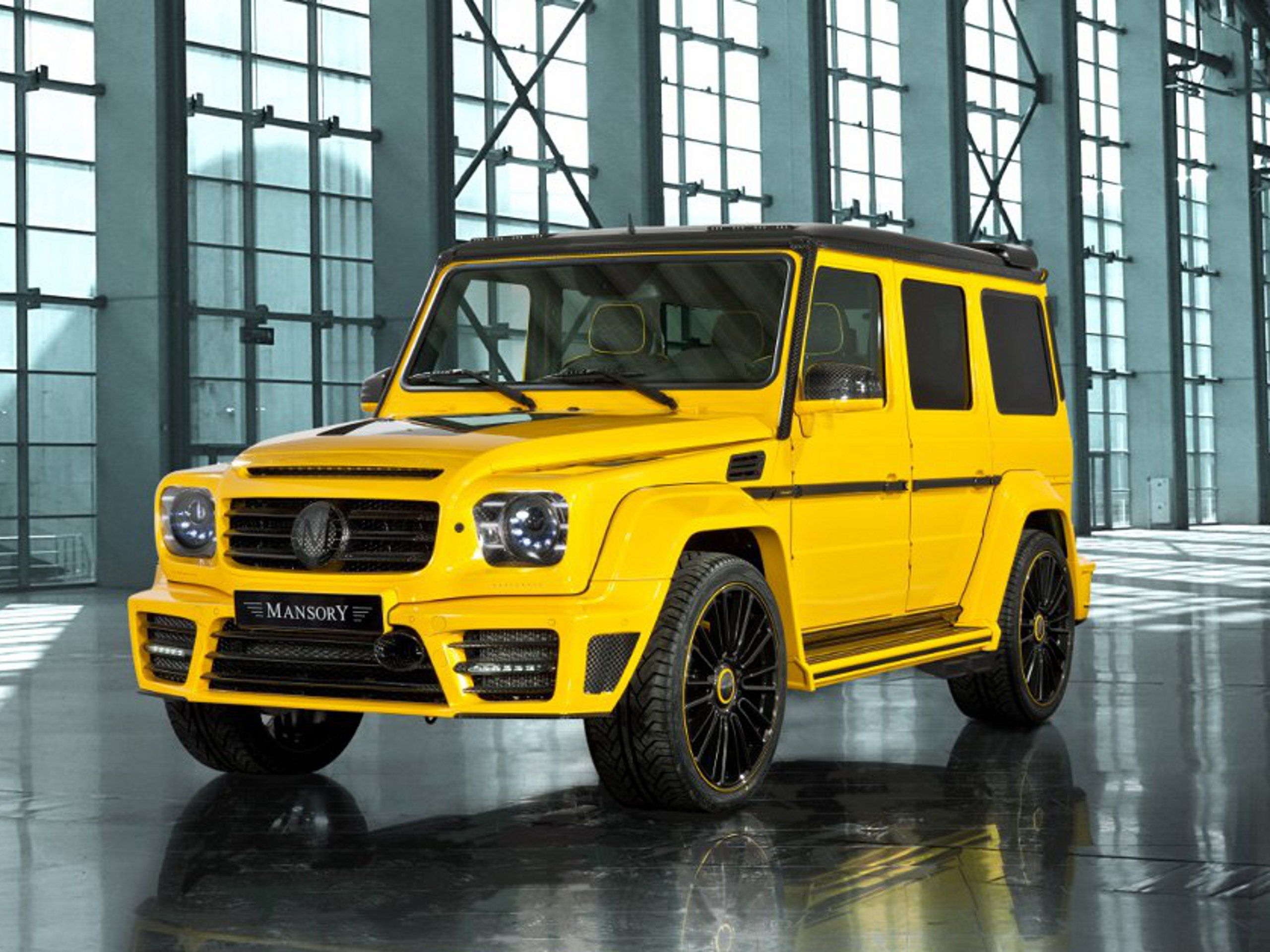 Mansory tuning Mercedes Classe G Nouvelle Geneva Motor Show 2013