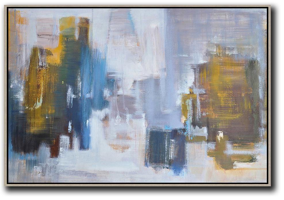 Horizontal Abstract Landscape Painting Lx32c Abstract Art Landscape Abstract Landscape Painting Abstract Landscape