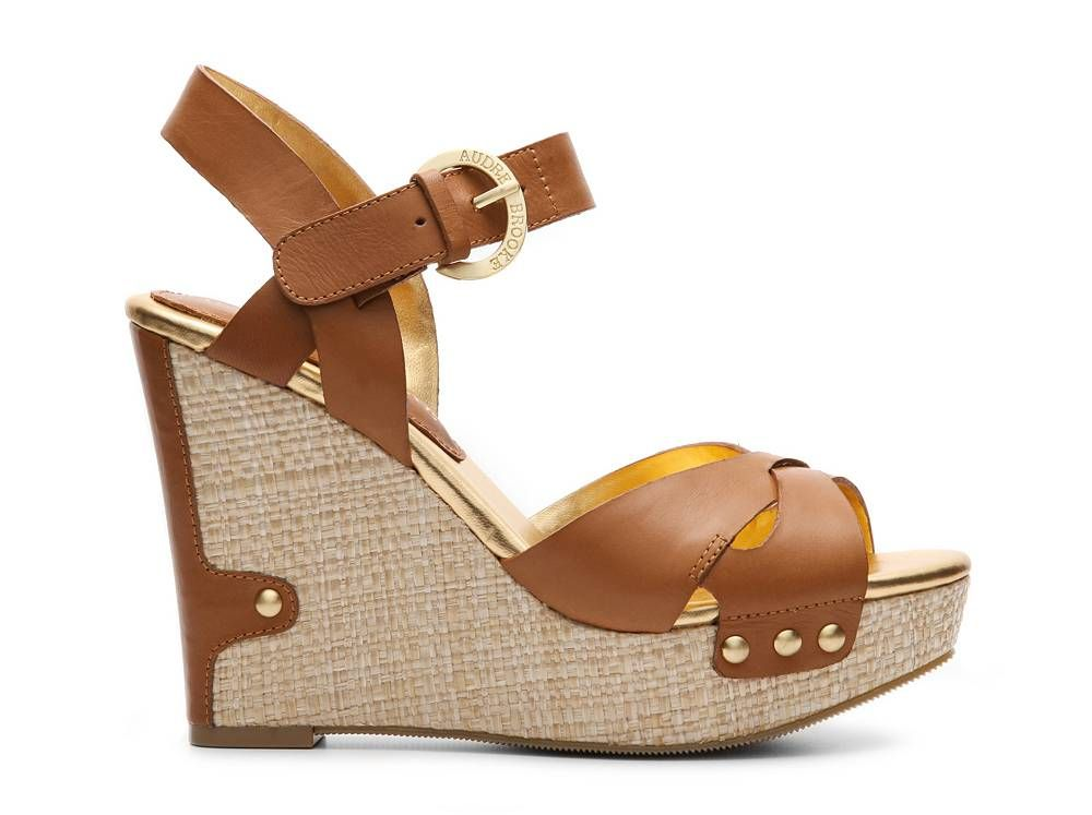 ad5c49779bddf Audrey Brooke Haleen Wedge Sandal Women s Wedge Sandals Sandals Women s  Shoes - DSW  60