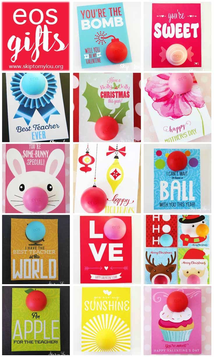 Free printable gift tags to pair with eos lip balm simply print free printable gift tags to pair with eos lip balm simply print card cut and add your lip gloss for an easy and inexpensive gift makes a perfec negle Images