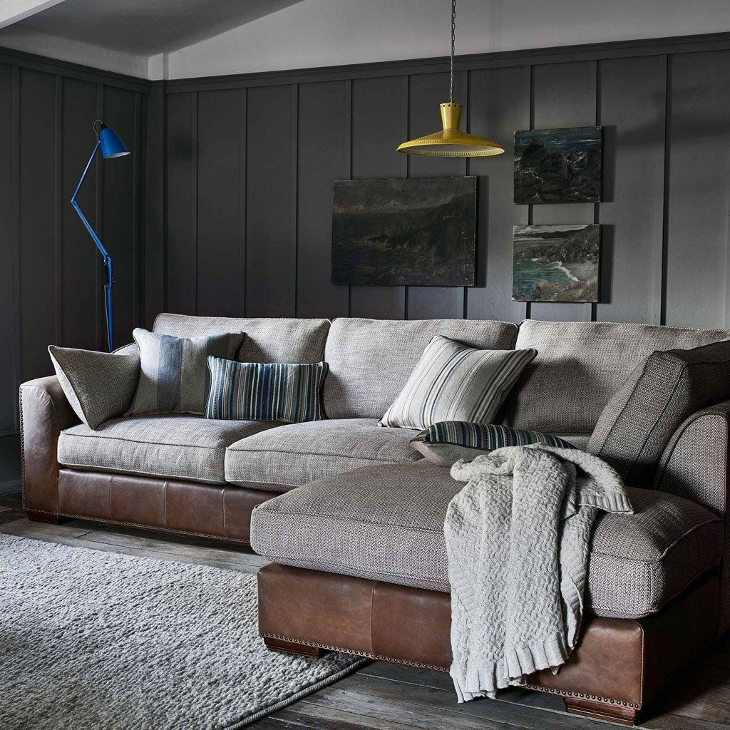 Beach House Corner Sofa Weathered, Pared Back And Exposed, Modern Beach  House Is Such