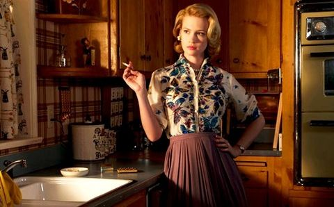 I love Betty Draper's style in the early seasons of Mad Men