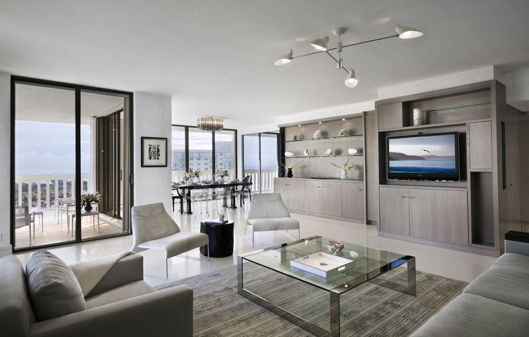 Portfolio Grade Condo Living Room Condo Interior Modern Condo