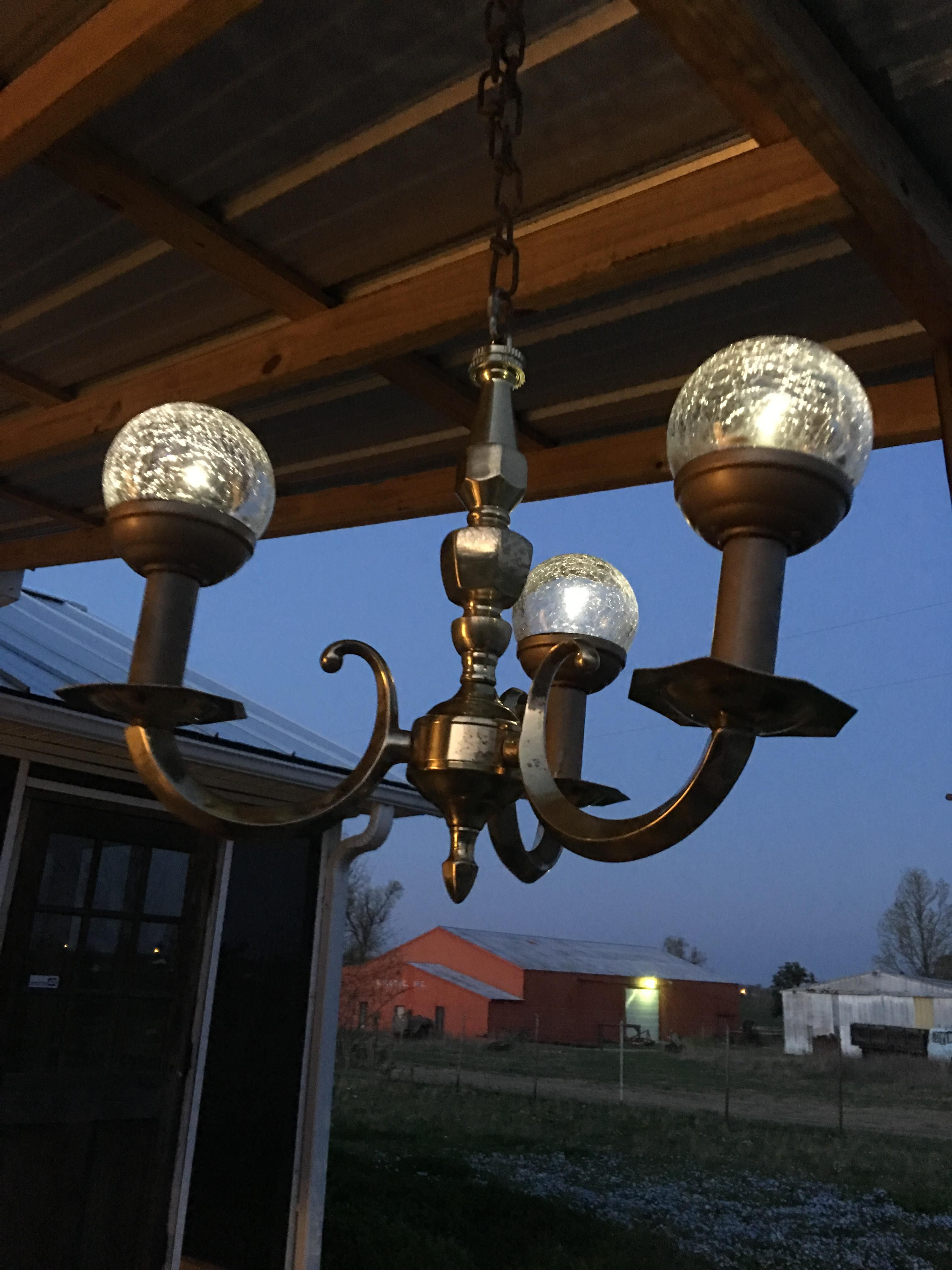 Solar Chandeliers #Handmade #Crafts #Howto #Diy
