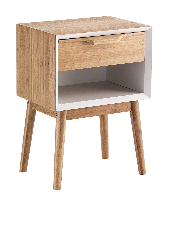 Contemporary Wood Mesita De Noche HIJO: Amazon.es: Hogar | furniture ...