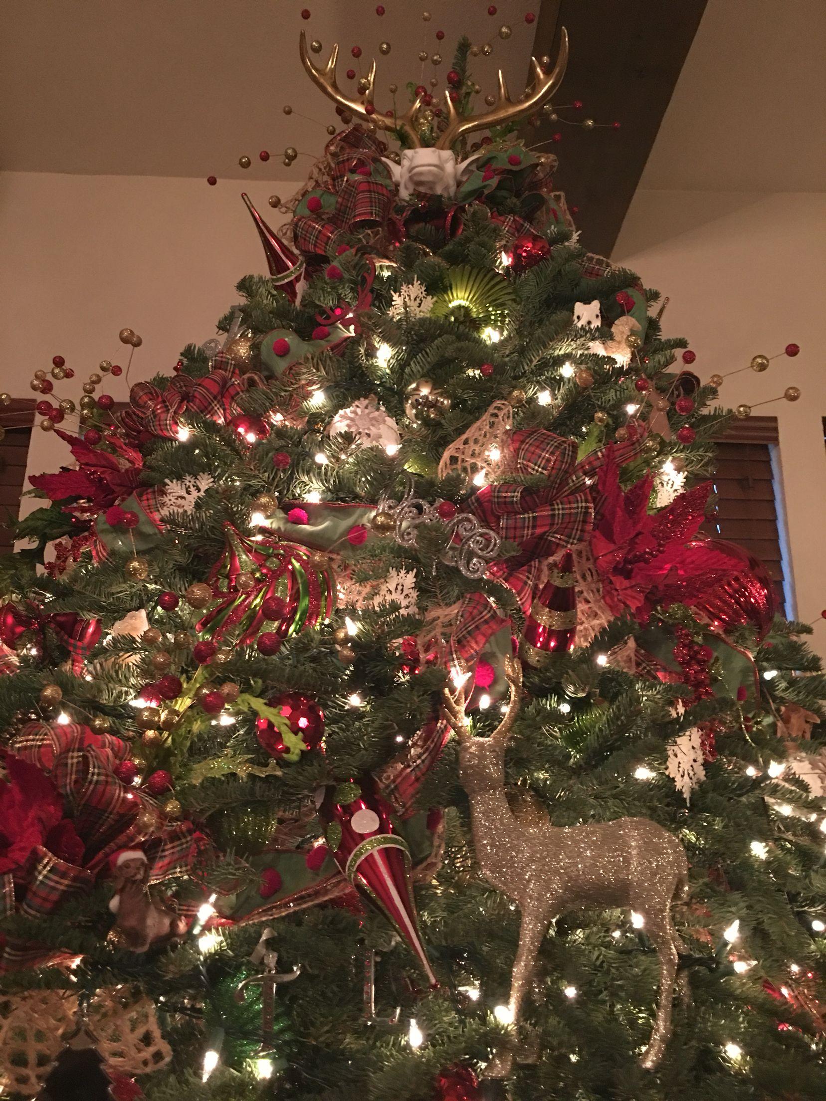 Deer Christmas tree