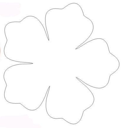 BLOG DA TIA JAQUE: Moldes de flores … | Sandra | Pinte…