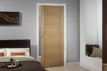 Wonderful The Tarifa Is A Very Modern Interior Door. The Horizontal Wood Grain In The  Centre
