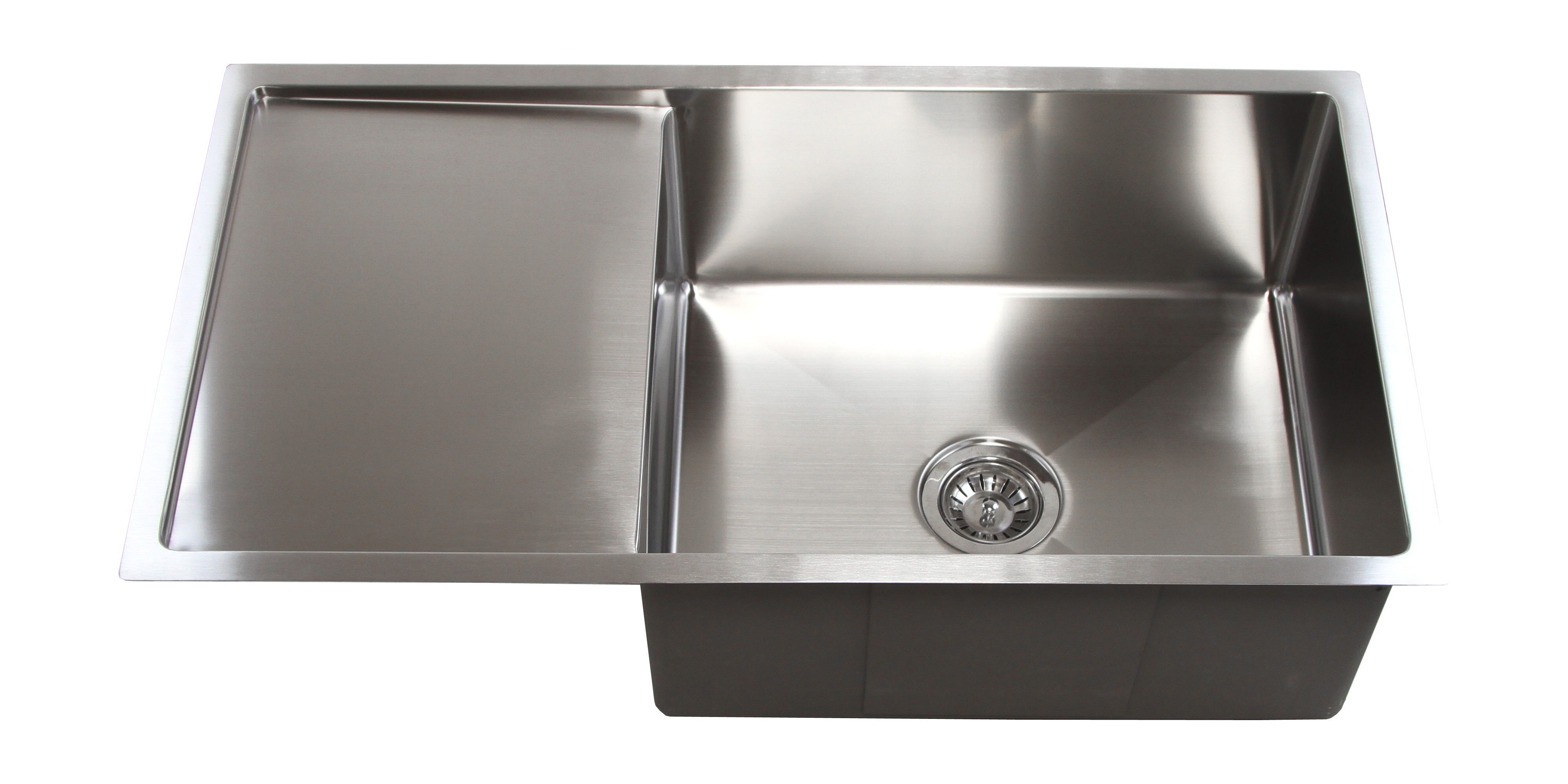 36 Inch Stainless Steel Radius Design Undermount