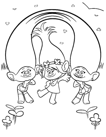 Poppy With Satin Chenille From Trolls Coloring Page Poppy Coloring Page Cartoon Coloring Pages Coloring Pages