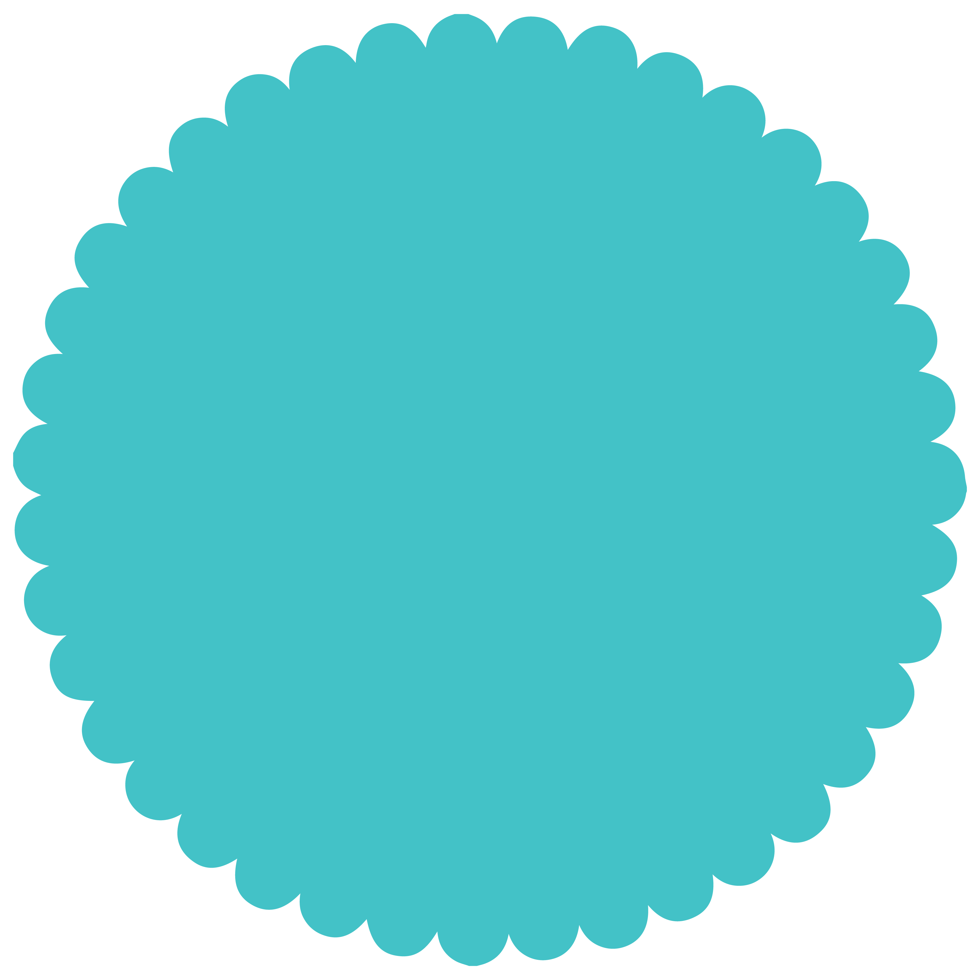 Scalloped Circle Transparent Related Keywords