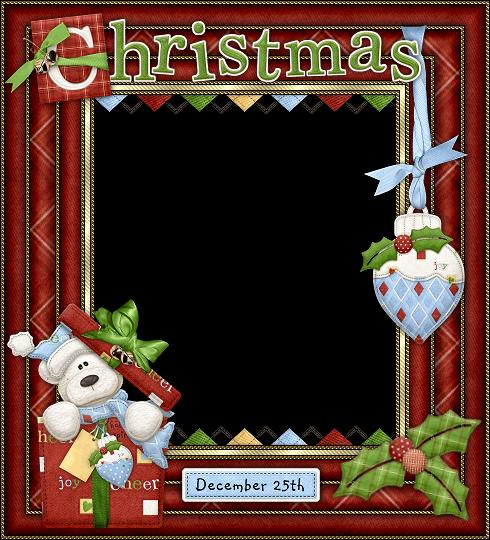 Bellos Marcos para Fotos o Tarjetas para Navidad, para Imprimir ...