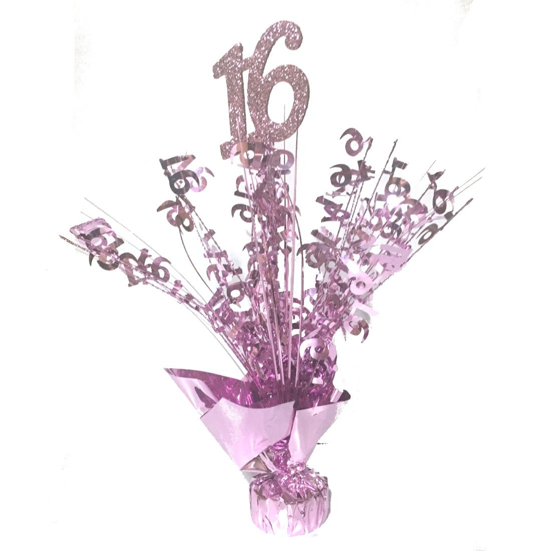 Sweet 16 Pink Centerpiece