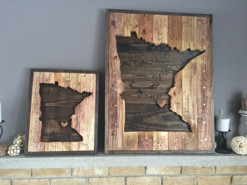 Rustic handmade wood decor We specialize in