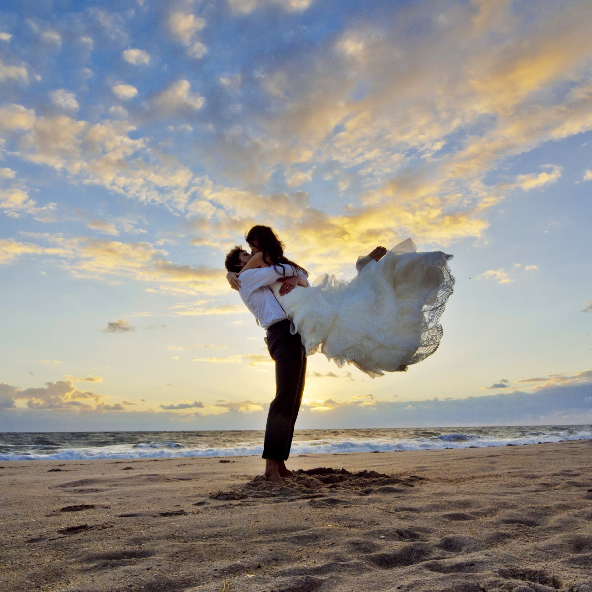 best beach wedding locations on budget%0A Wedding On Beach At Sunset  Tap to see more beautiful wedding shots of  couples in  Weddings On A BudgetDestination