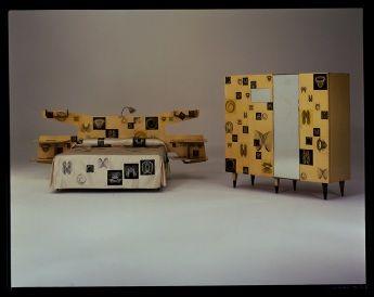 Prototipo di stanza da letto per la 9° Triennale di Milano ...