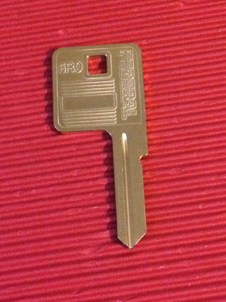 Details about FEDERAL Padlock Keys Cut to Code Number- Key