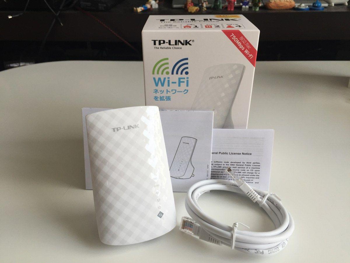 Tp Link 無線lan中継機 11ac対応 11ac N A G B 433 300mbps 3年保証 Re200 無線 対応 中継