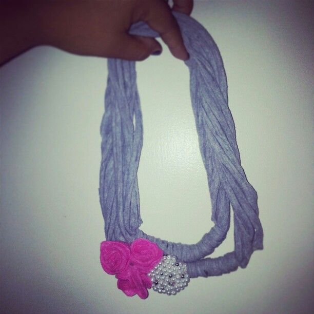 T-Shirt scarf for Emma :)