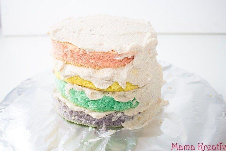 Photo of Machen Sie selbst Einhorn Regenbogen Piñata Kuchen – Mama Kreativ – Einhorn Reg…